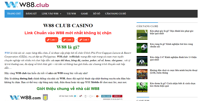 Looking for Good Online Casino Games at w88club?